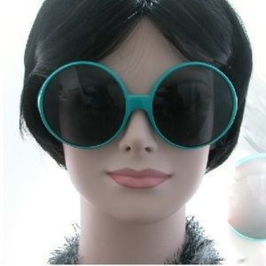 Kiss Accessories - Super oversized sunglasses turquoise new